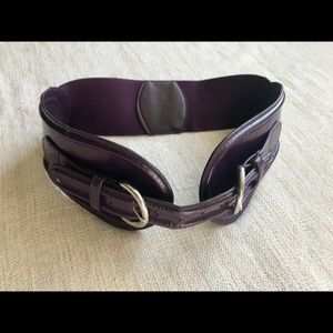 Aldo Accessories - Purple belt size M with two adjustable buckles